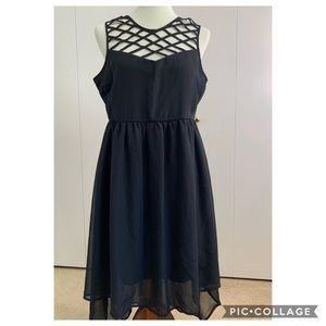Live 4 Truth L black dress high low